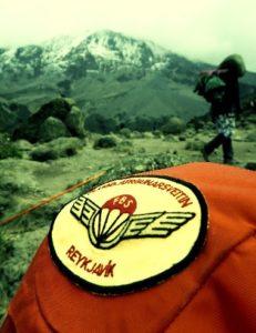 Kilimanjaro - jökullinn á Kibo tindi